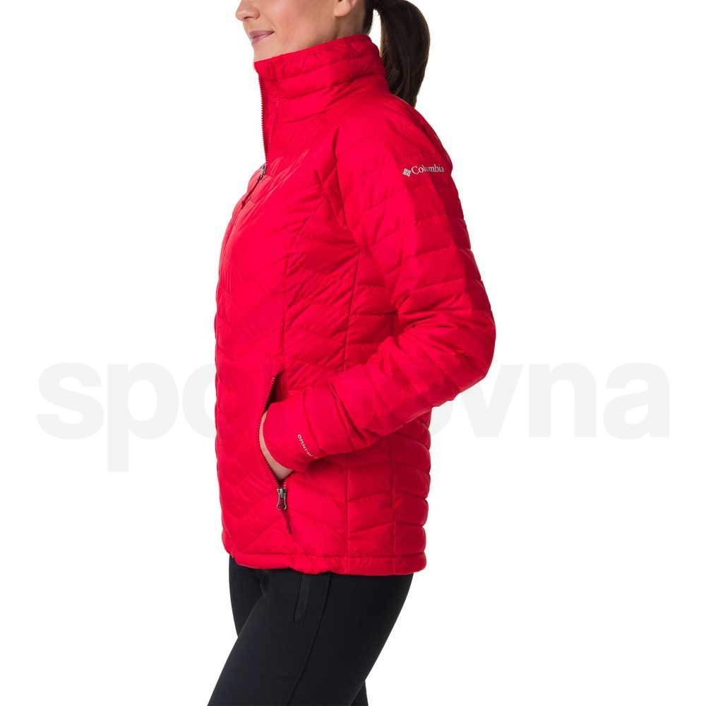 Bunda Columbia Powder Lite™ Jacket - červená