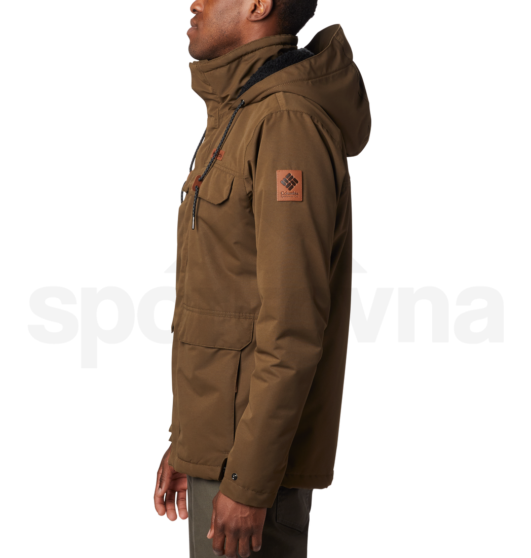 Bunda Columbia South Canyon™ Lined Jacket M - zelená/hnědá