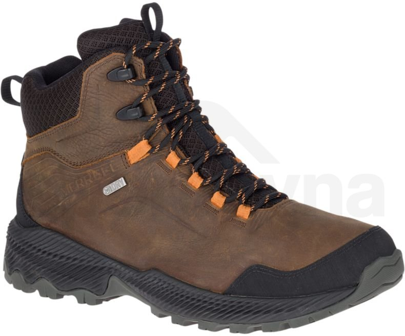 Merrell J77299 FORESTBOUND MID WTPF dark earth