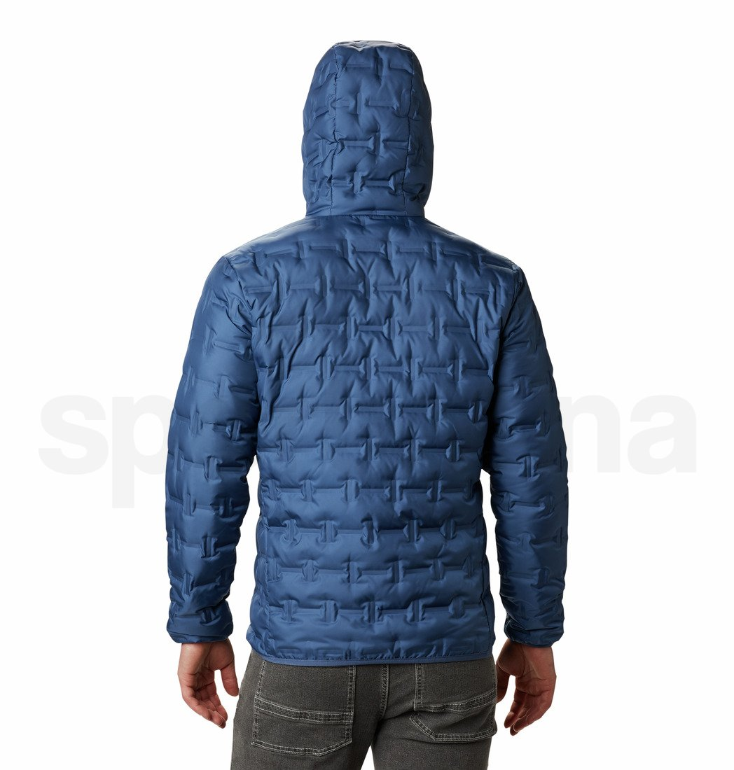 Bunda Columbia Delta Ridge™ Down Hooded Jacket M - modrá