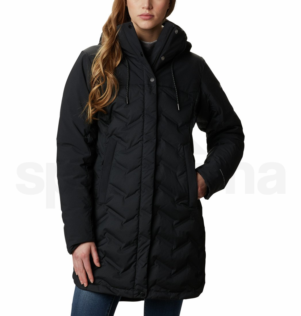 Bunda Columbia Mountain Croo™ Long Down Jacket - černá