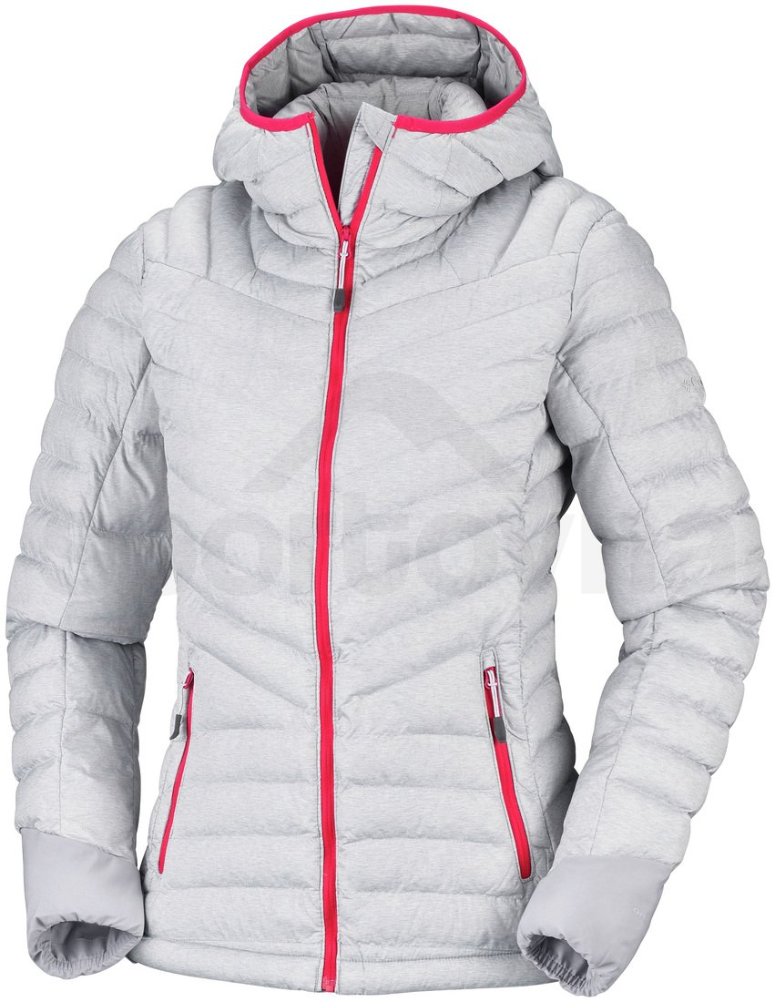 Bunda Columbia Windgates™ Hooded Jacket W - šedá