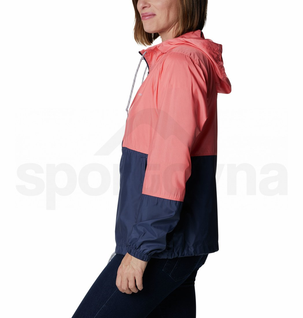 Bunda Flash Forward™ Windbreaker W - růžová/modrá