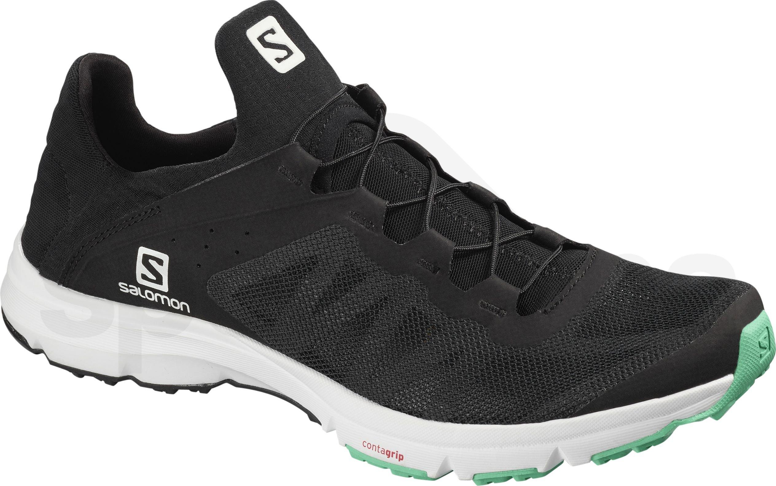 48b3cf2627a5 Dámské turistické sandály Salomon TECHAMPHIBIAN 4 W Black Ebony ...