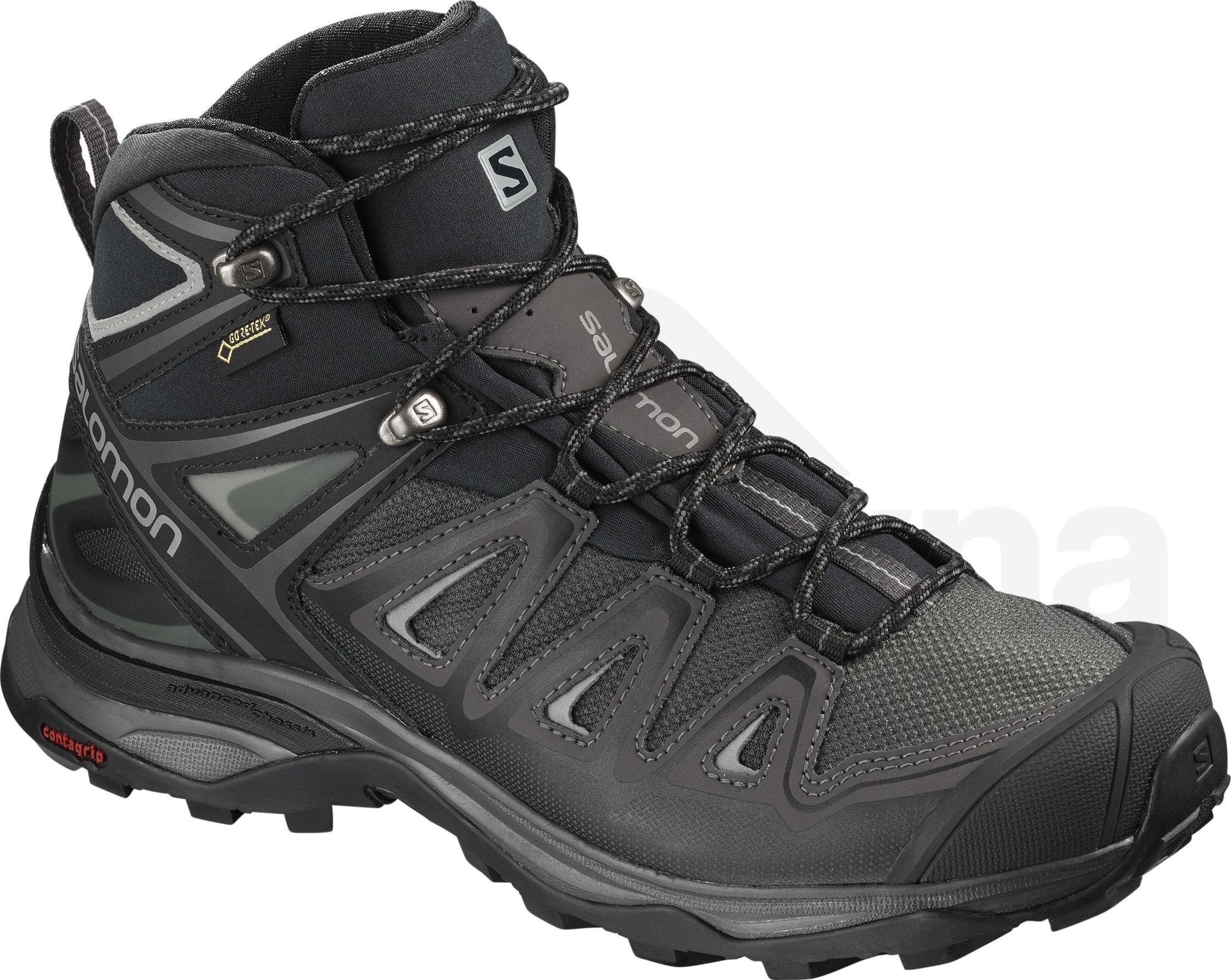 Dámská turistická obuv Salomon X ULTRA 3 MID GTX W Magnet Bk Monum ... 775c94668f