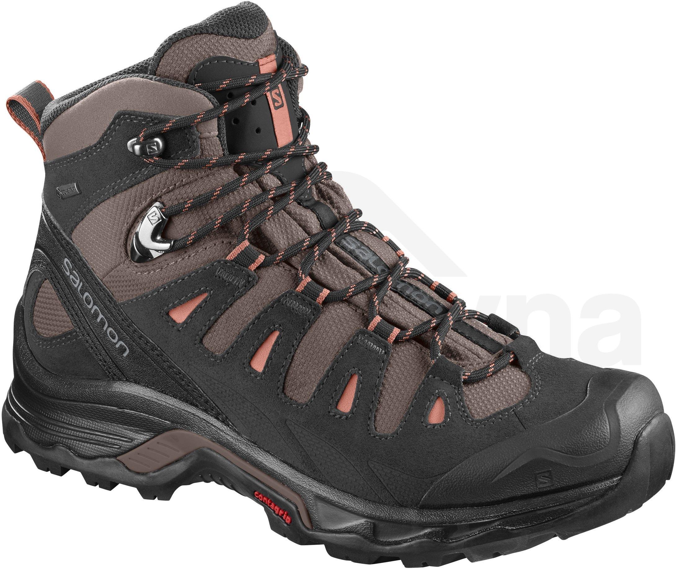Dámská turistická obuv Salomon QUEST 4D 3 GTX W Teak - L40245800 ... be02cfaab46