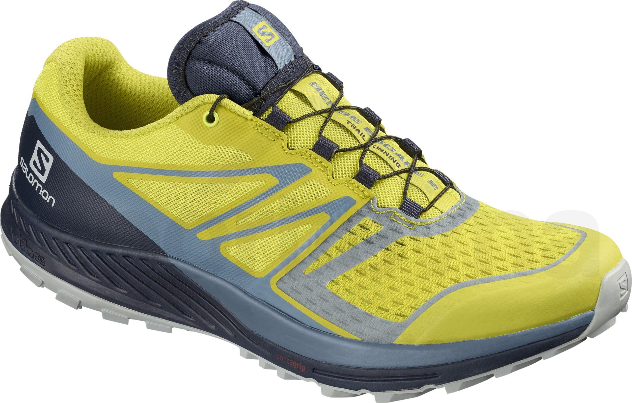 c276c61900b5 Pánská trailová běžecká obuv Salomon SENSE RIDE 2 Blue orange ...