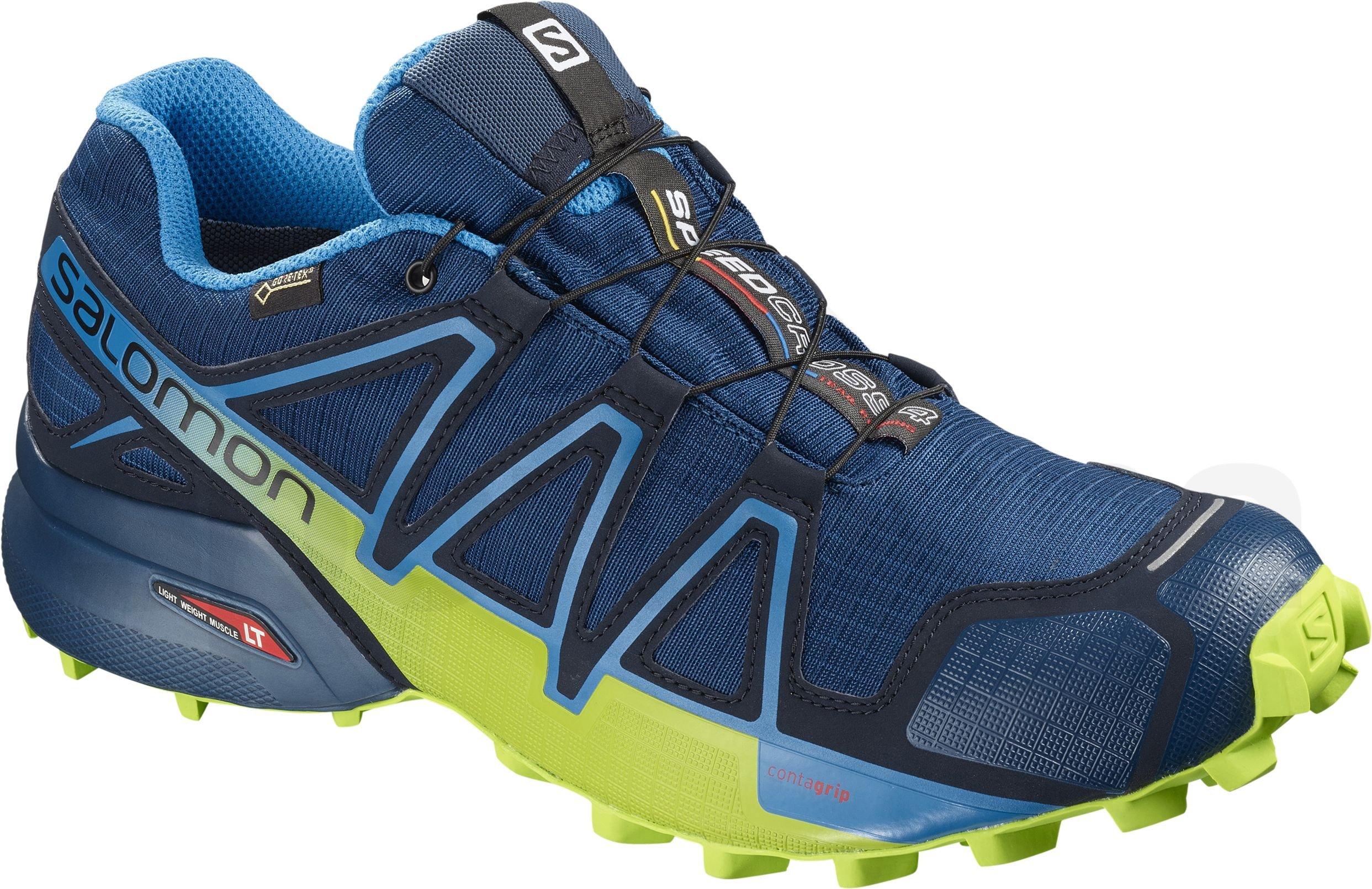 9bd8ba5075c Pánská trailová běžecká obuv Salomon SENSE RIDE 2 Blue orange ...