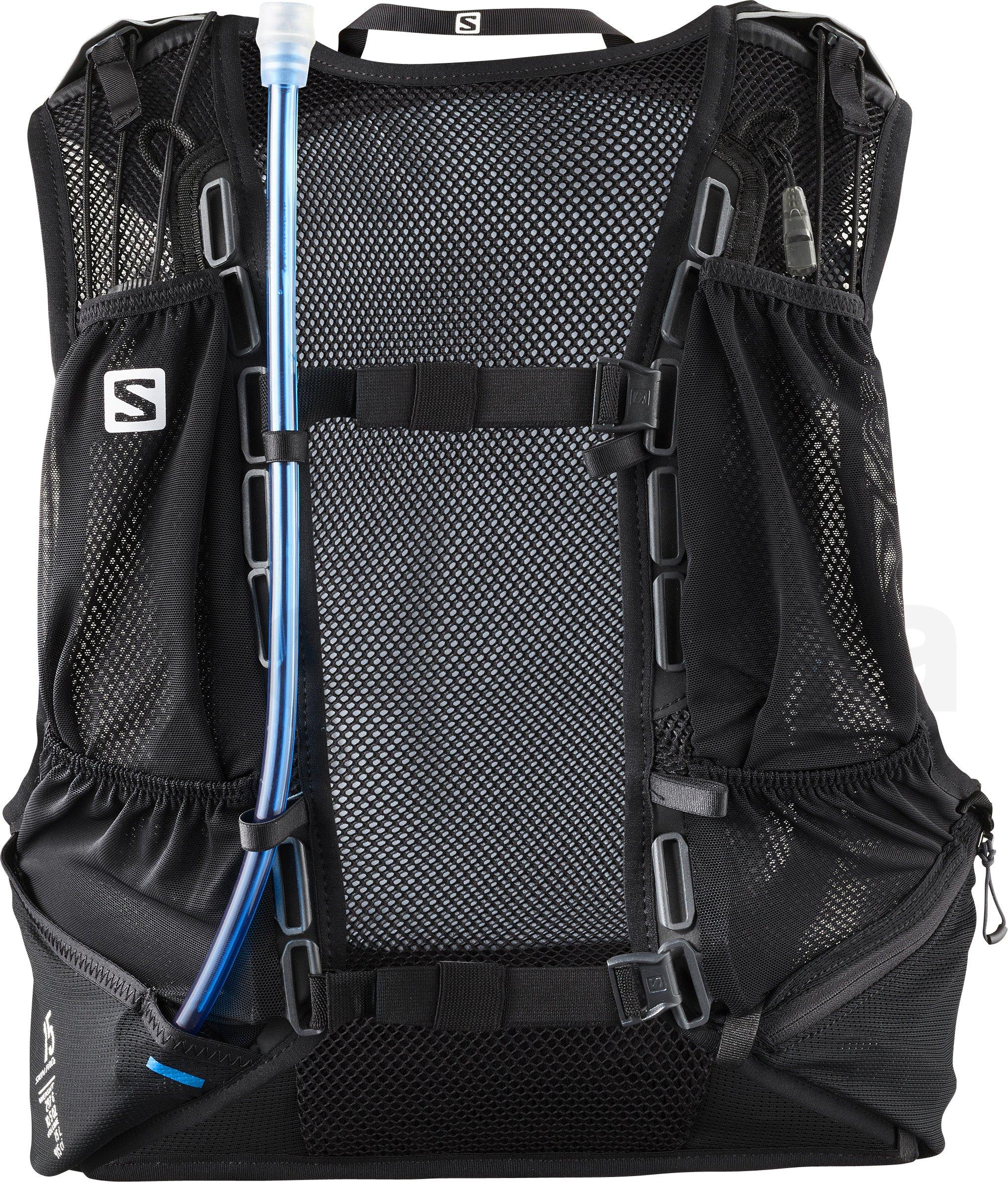 1071059e00 Sportovní batoh Salomon SKIN PRO 15 SET Black Ebony - LC1091900 ...