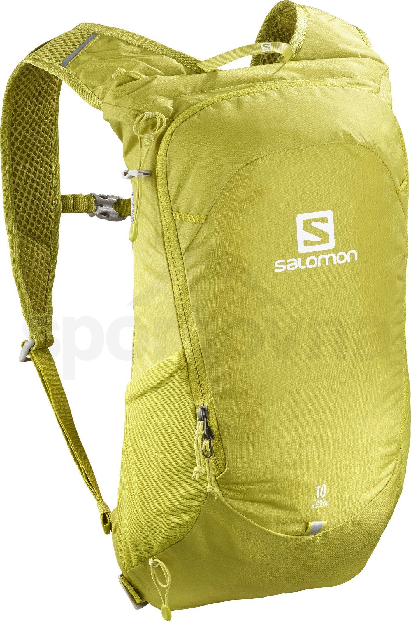 e387c1a212 Sportovní batoh Salomon TRAILBLAZER 10 Citronelle Alloy - LC1085200 ...