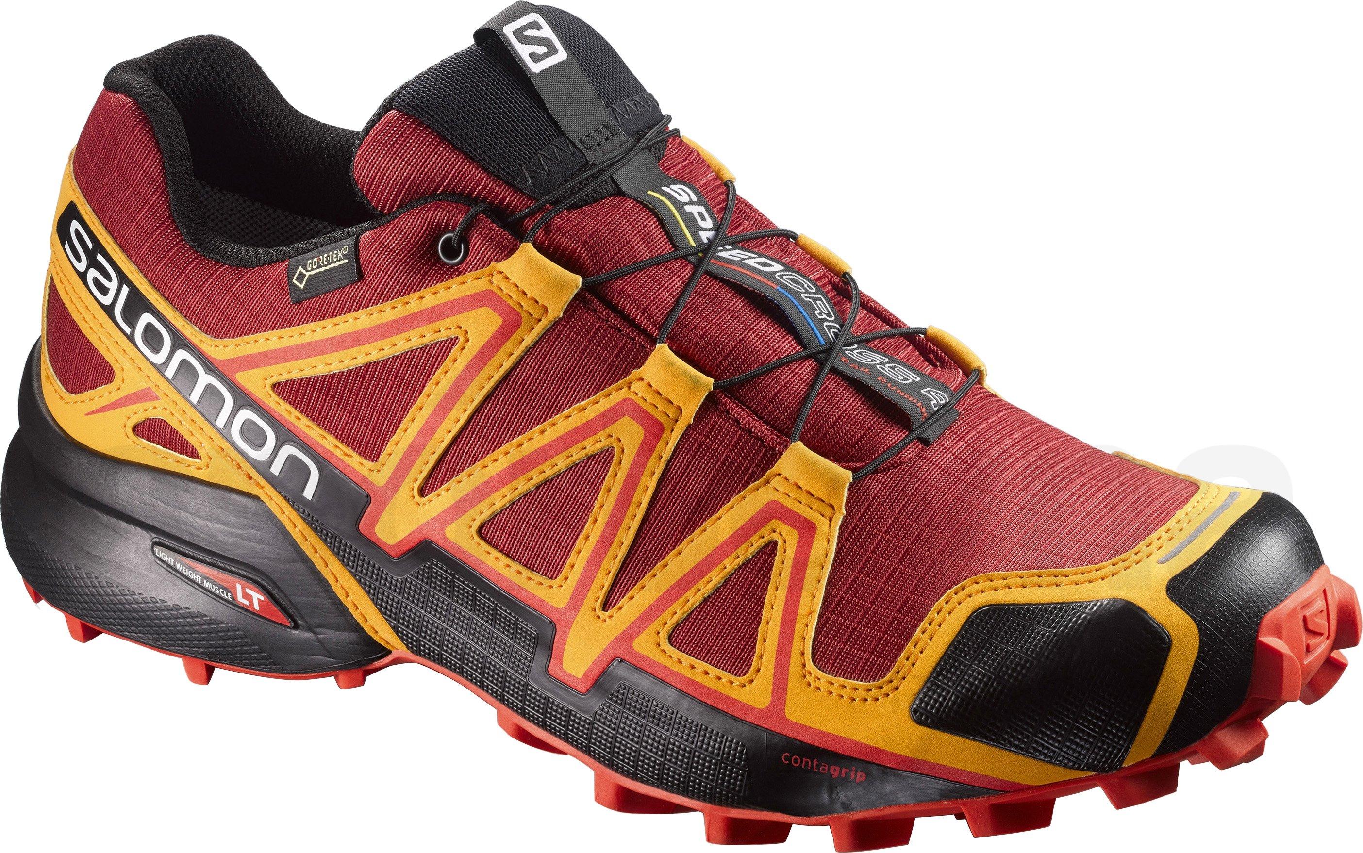 Pánská trailová běžecká obuv Salomon SPEEDCROSS 4 GTX Medieval Blue ... f6d1354aba4