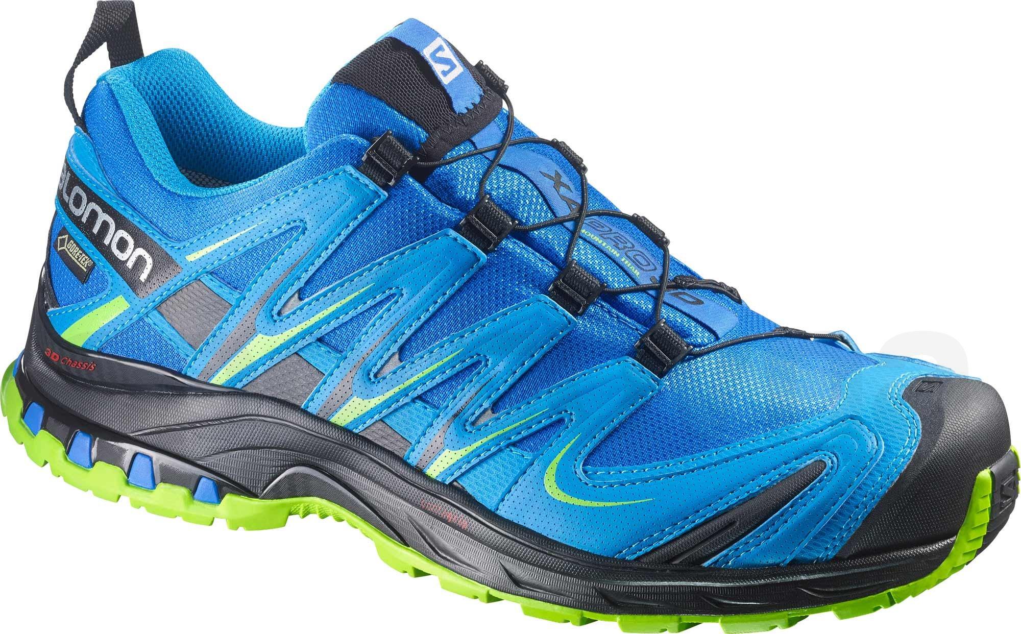 9199a4abf9 Pánská trailová běžecká obuv Salomon XA PRO 3D GTX M Blue ...