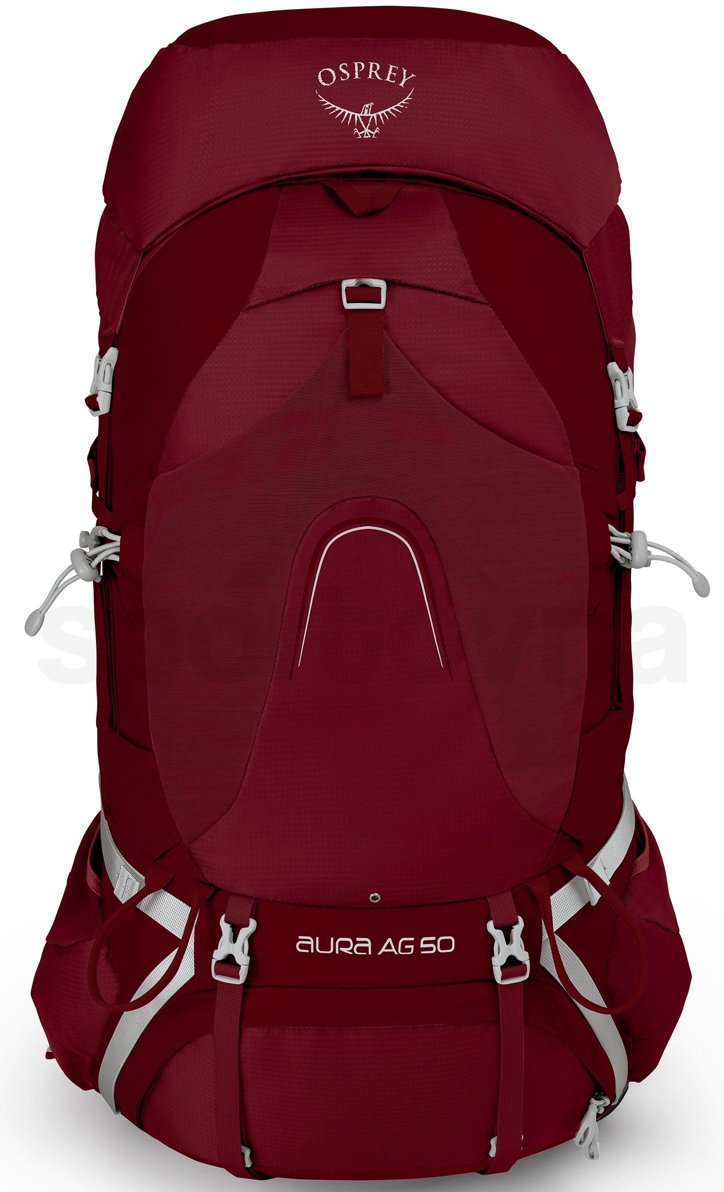 604020c671 Dámský turistický batoh Osprey Aura AG 50 II - gamma red - Sportovna