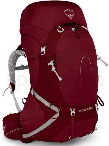 9320e3b343 Dámský turistický batoh Osprey Aura AG 65 II - gamma red - Sportovna