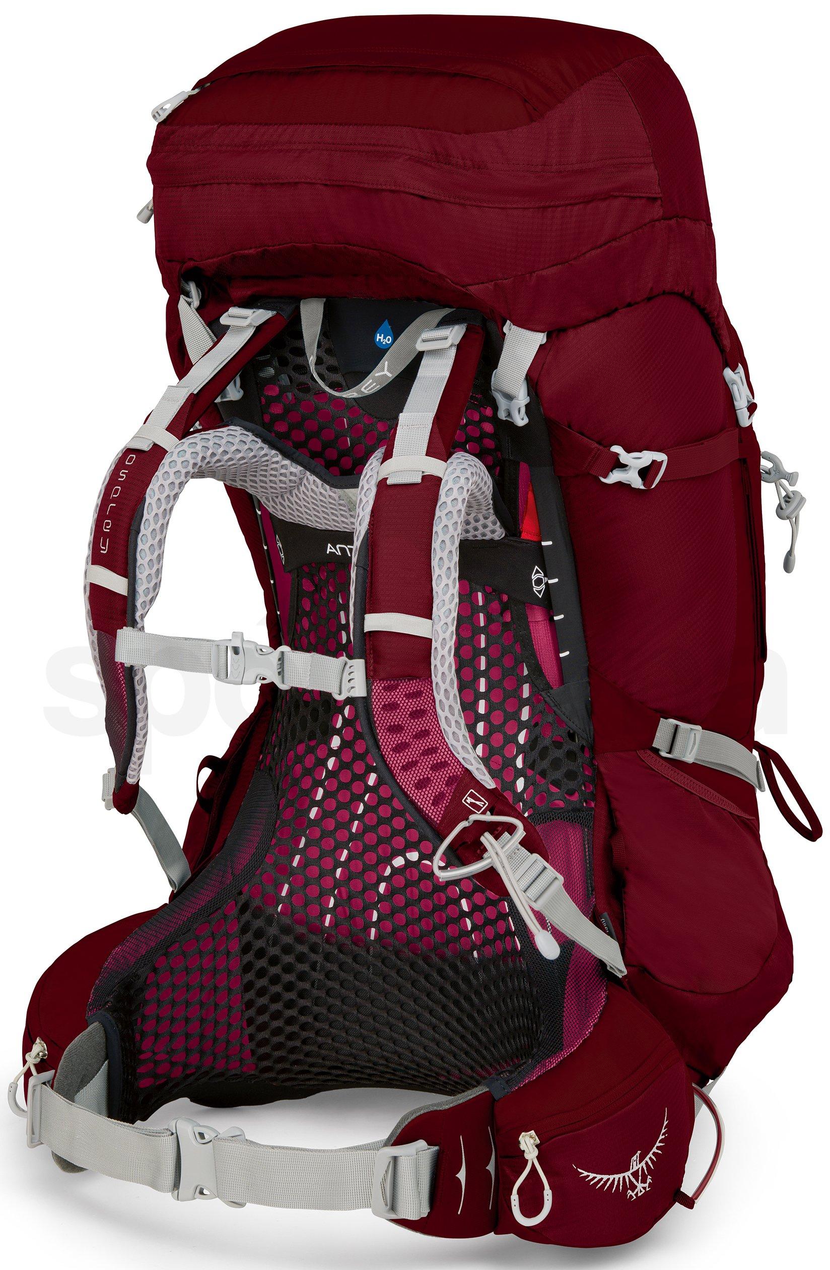 6c3eba9f9d Dámský turistický batoh Osprey Aura AG 65 II - gamma red - Sportovna