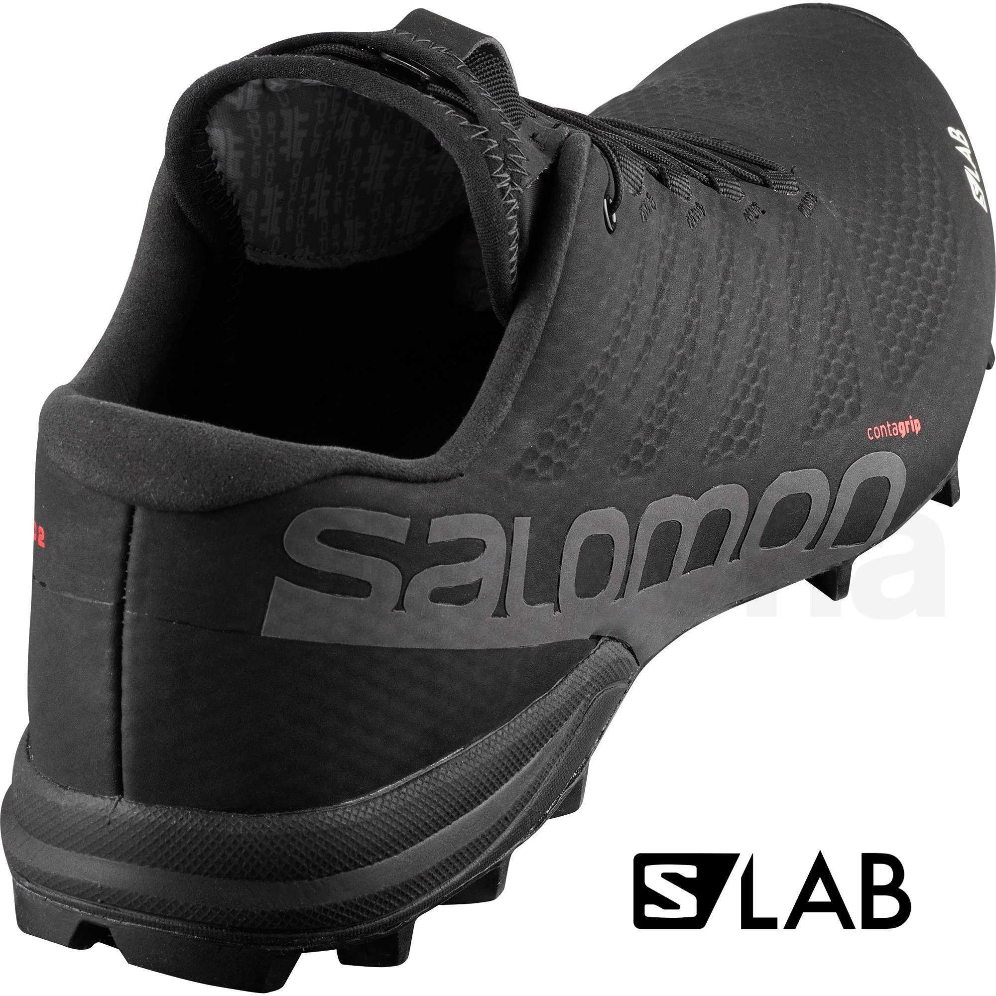 Salomon Obuv S/LAB SPEED 2 Black/Racing Red/Wh